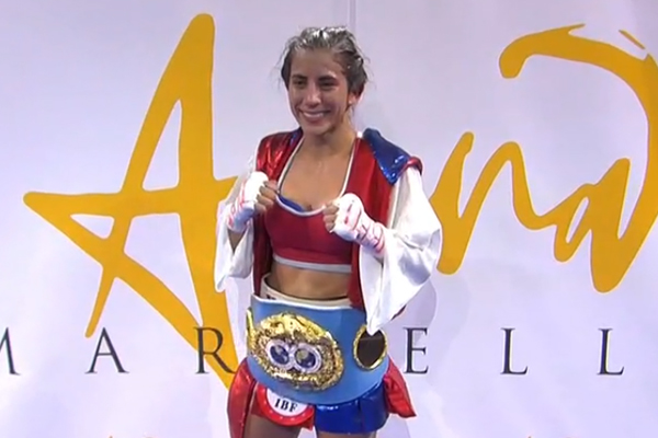 Joana Pastrana Pierde Su Corona Mundial De Boxeo Ante: Joana Pastrana Perdió Su Corona Mundial Ante Yokasta Valle